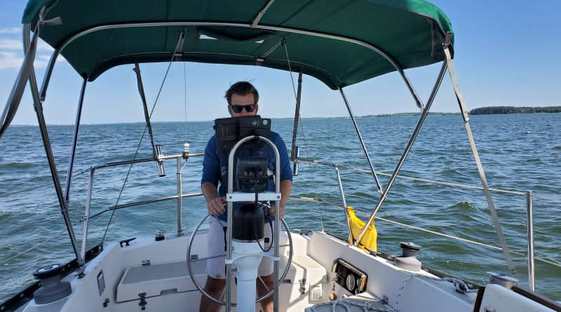 St Mary's to Solomons Island Greg's first trip…